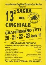 SAGRA DEL CINGHIALE - Graffignano 20-23 agosto 2015