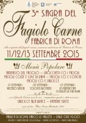 SAGRA FAGIOLO CARNE - Fabrica di Roma 11-13 settembre