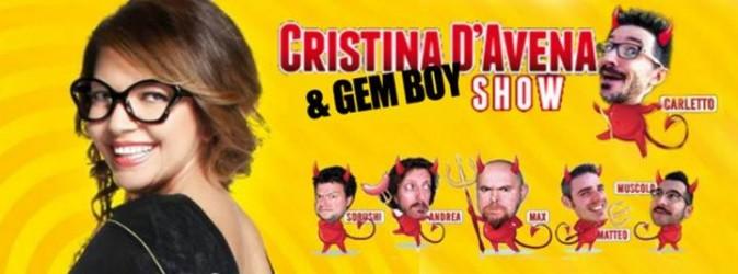 CRISTINA D'AVENA E GEM BOY - Fabrica di Roma 21/09/2015