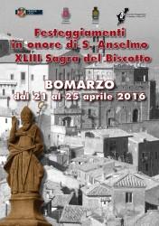 SAGRA DEL BISCOTTO - Bomarzo 24-25 aprile 2016