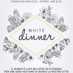 white dinner 30 agosto