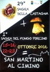 SAN MARTINO - Sagra della Castagna e del Fungo Porcino