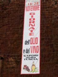 GIORNATE DELL'OLIO E DEL VINO - Gallese 19-20 novembre 2016