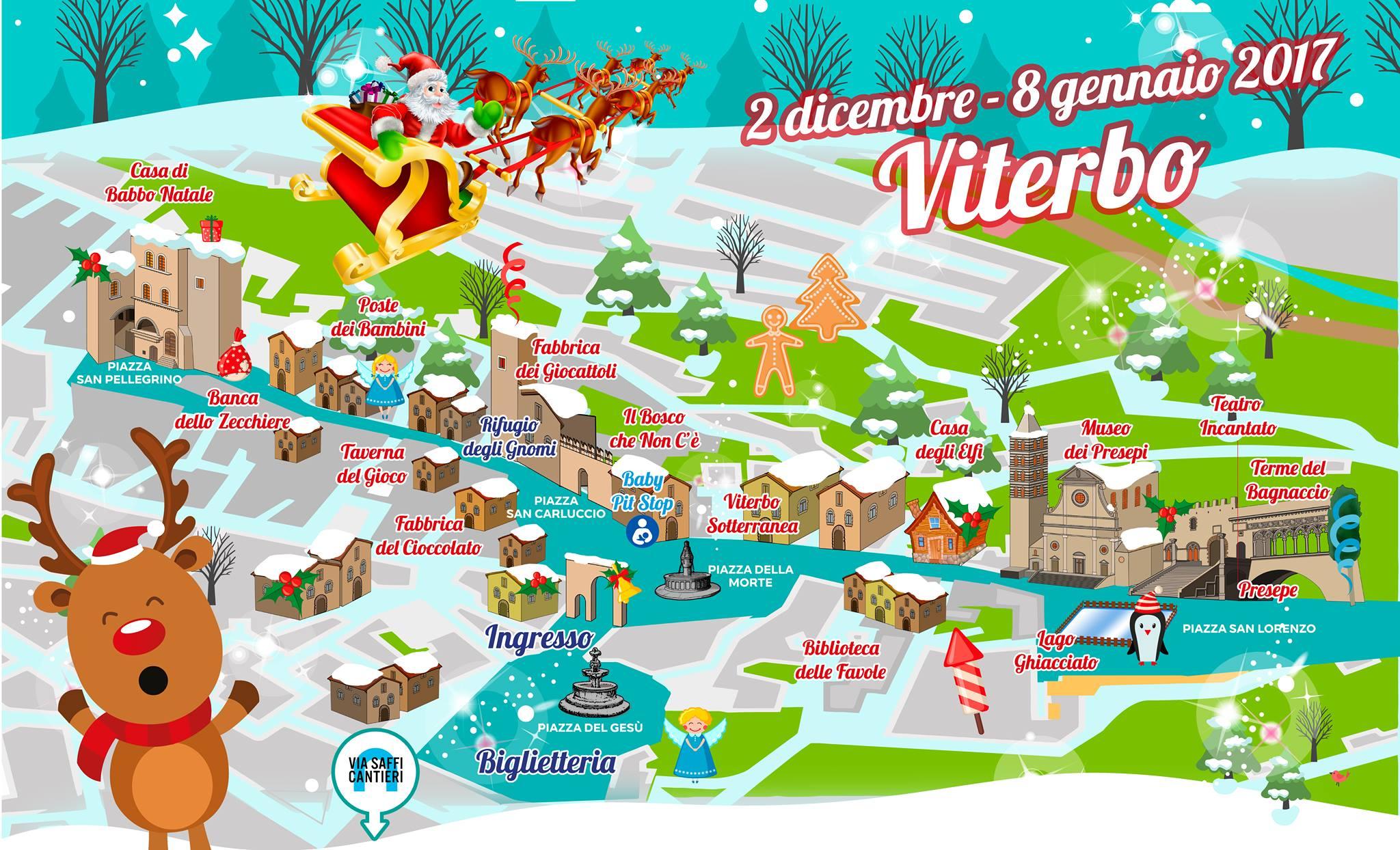 Babbo Natale A Casa Dei Bambini.Tuscia Eventi Bambini Casa Di Babbo Natale E Presepe Piu