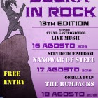 FESTIVAL – Nanowar Of Steel, The Rumjacks e Pino Scotto a Blera in Rock